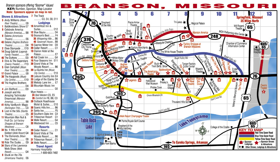 Branson mo hotel map 2018 world 39 s best hotels for Civic center motor lodge